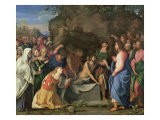 The Resurrection of Lazarus, c.1508-10 - Jacopo Palma