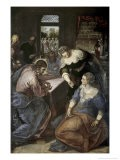 Christ in the House of Mary and Martha - Jacopo Robusti Tintoretto
