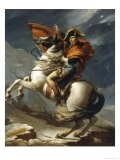 Napoleon Crossing the Alps - Jacqueline David