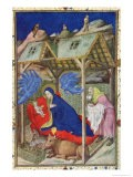 Hours of Notre Dame: Prime, the Birth of Christ - Jacquemart De Hesdin