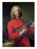 Jean-Philippe Rameau (1683-1764) with a Violin - Jacques Andre Joseph Aved