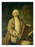 Victor Riquetti, Marquis of Mirabeau, French Economist, 1743 - Jacques Andre Joseph Aved