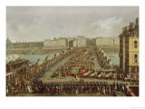 The Imperial Procession Returning to Notre Dame for the Sacred Ceremony of 2nd December 1804 - Jacques Bertaux