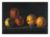 Still-Life with Oranges - Jacques Charles Oudry
