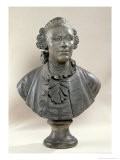 Bust of Johan Georg Wille - Jacques-francois-joseph Saly