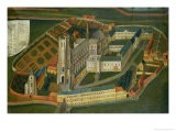 The Abbey of Saint-Bertin at Saint-Omer, 1776 - Jacques Francois Lemaire