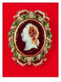 Cameo of Louis XV (1710-74) from Bracelet Worn by Madame De Pompadour (Sardonyx & Precious Stones) - Jacques Guay
