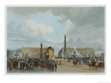 The Funeral Cortege of Napoleon I Passing Through the Place de la Concorde 15 December 1840 - Jacques Guiaud