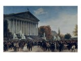 The Palais Du Corps Legislatif after the Last Sitting on 4th September 1870 - Jacques Guiaud