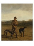 Portrait of Lord Rivers with Two Greyhounds, c.1825 - Jacques Laurent Agasse