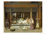 The Fish Shop - Jacques-Laurent Agasse