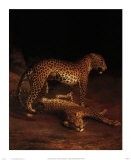 Two Leopards Playing in the Exeter Change Menagerie, c.1808 - Jacques-Laurent Agasse