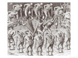 "Johannes Lerii's Account of the Caraibe Indians, from ""Americae,"" 1593 - Jacques Le Moyne"