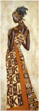 Femme Africaine II - Jacques Leconte