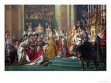 The Consecration of the Emperor Napoleon (1769-1821) and the Coronation of the Empress Josephine - Jacques-Louis David