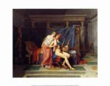 The Love of Paris and Helen - Jacques-Louis David