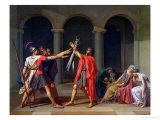 The Oath of Horatii, 1784 - Jacques-Louis David
