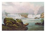 General View of Niagara Falls from the Canadian Side - Jacques Milbert