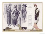 Evening Dress with Polecat Fur Mantle Trimmed in a White Fur - Jacques Nam