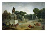 The Entrance to the Tuileries from the Place Louis XV in Paris, circa 1775 - Jacques Philippe Joseph Saint-Quentin