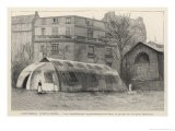 An Exterior View of a Tent- Hospital - Jacques & Pierre Bellenger