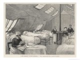 An Interior View of a Tent- Hospital - Jacques & Pierre Bellenger