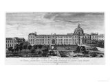 View of Hopital Royal de La Salpetriere, Known as Hopital General, Paris - Jacques Rigaud