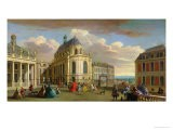 View of the Chapel of the Chateau De Versailles from the Courtyard - Jacques Rigaud