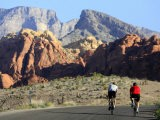 Two Cyclists, Red Rock Canyon National Conservation Area, Nevada, May 6, 2006 - Jae C. Hong