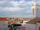 Skyline Views with Traditional Rooftops and Bell Tower, Tavira, Algarve, Portugal - Jain Lemos