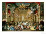 Masked Ball in the Hoftheater, Bonn, 1754 - Jakob Rousseau