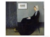 Arrangement in Grey and Black No.1: Portrait of the Artist's Mother, c.1871 - James Abbott McNeill Whistler