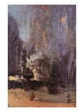 Nocturne In Black and Gold, The Falling Rocket - James Abbott McNeill Whistler