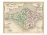 Map of the Isle of Wight - James Archer