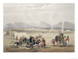 The City of Candahar, from Sketches in Afghaunistan, Engraved by Charles Haghe - James Atkinson