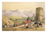 The Valley of Maidan, from 'Sketches in Afghaunistan', engraved by Charles Haghe - James Atkinson