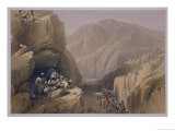"""The Wild Pass of Siri-Kajoor, from """"Sketches in Afghaunistan"""" - James Atkinson"""