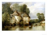 Arundel Mill, Sussex - James Baker Pyne