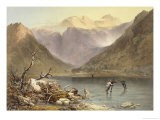 "Brothers Water, from ""The English Lake District,"" 1853 - James Baker Pyne"