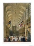 Interior of St George's Chapel, 1838 - James Baker Pyne