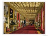 South Corridor, Windsor Castle, 1838 - James Baker Pyne
