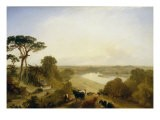 The Thames from Twickenham, 1843 - James Baker Pyne