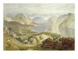 Wast Water, from 'The English Lake District', 1853 - James Baker Pyne
