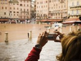 Visitor Takes a Photo, Piazza Del Campo - James Braund