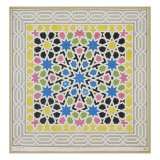Mosaic Design from the Alhambra, from 'The Arabian Antiquities of Spain', published 1815 - James Cavanagh Murphy