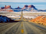 Looking South Toward Monument Valley, Hwy 163 - James Denk