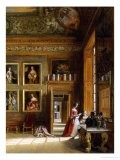 Interior at Hampton Court - James Digman Wingfield