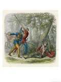 At the Battle of Barnet Edward IV Defeats the Lancastrians Under the Earl of Warwick - James Doyle