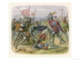Henry V Leads the English to Victory at Agincourt Defeating an Army Four Times as Large - James Doyle