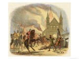 William I is Fatally Wounded at Mantes - James Doyle